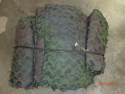 Woodland Camouflage Netting Military Camo Hunting Cover Backing 28x30 Feet -HUGE