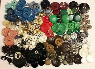 Vintage to Modern Mixed Buttons