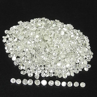 G-I White Single Cut Round Natural Loose Diamonds Lot 1.03cts