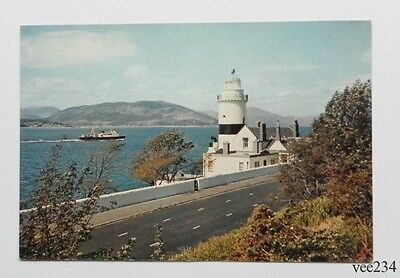 Post Card-The Cloch Lighthouse Firth of Clyde-J.Arthur Dixon-Unused-3652