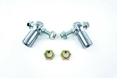 2 American Star 4130 Chromoly Racing Tie Rod Ends For Ranger RZR S 800 09-up
