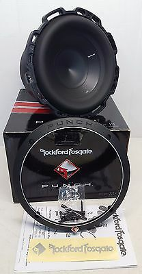 "Rockford Fosgate P2D4-8 Punch 8"" Car Subwoofer With DVC 4-Ohm Voice OPEN-BOX#633"
