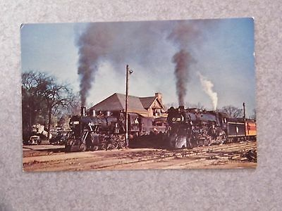 Railway, Milwaukee Road Janesville, Wisc. station Train, Railroad PHOTO POSTCARD