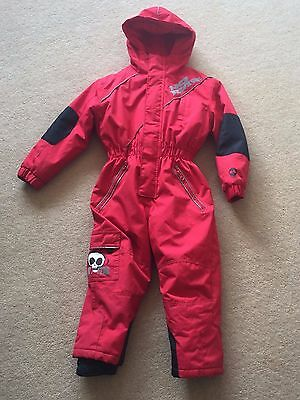 Boys No Fear Ski Snow Suit Age 2-3 Great Condition