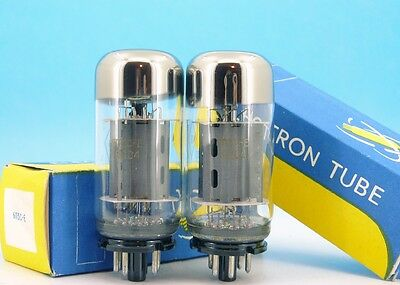 6P3S-E 6П3С-Е MATCHED PAIR Military Grade Power Audio TUBES 6L6GT 5881 OSW3108