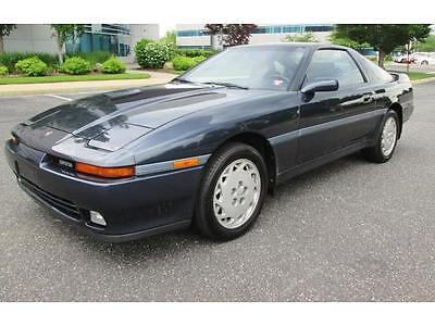 1990 Toyota Supra Turbo 1990 Toyota Supra Turbo 5 Speed Only 74K Miles Stunning Car Rare Find Must See