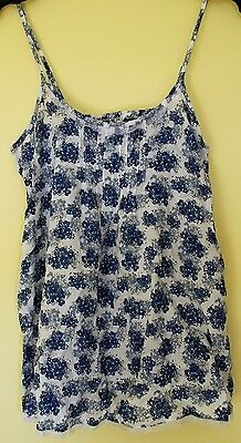 New & Tagged M&S Limited Collection Sleepwear Strappy Cami Vest Top Size 8