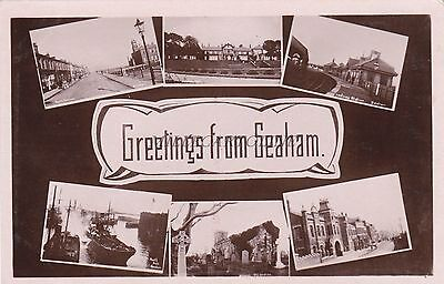 ENGLAND - Greetings from Seaham - Real Photo