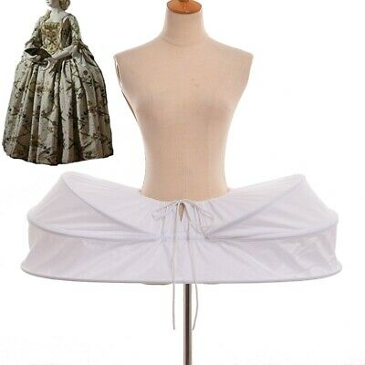 Marie Antoinette Panniers Colonial Venice Masquerade Hoopskirt Gown Petticoat