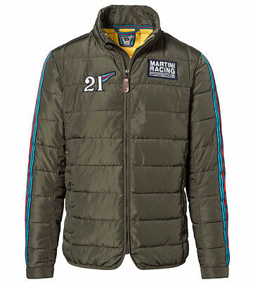Porsche Driver's Selection MARTINI RACING Collection Men's Quilted Jacket