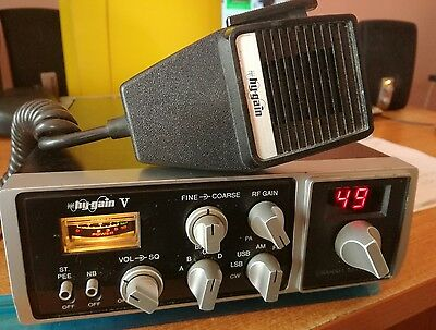 Hy Gain V (8795) 200 channel (4 bands of 50) multi mode CB radio.