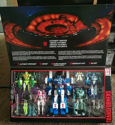 Transformers Generations Platinum Edition Autobot Heroes Action Figure