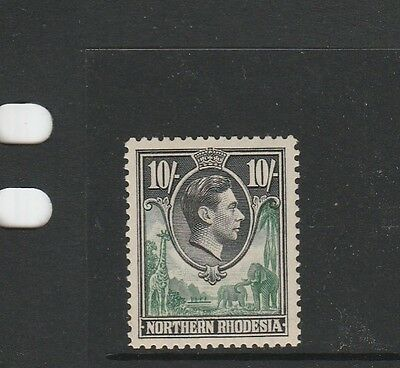 Northern Rhodesia 1938/52 10/- UM/MNH SG 44, see note