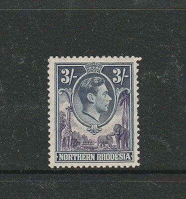 Northern Rhodesia 1938/52 3/- UM/MNH SG 42, see note
