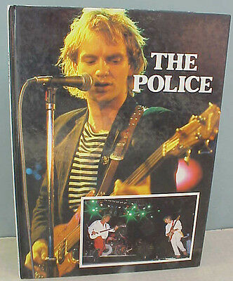 The Police Sting Hard Cover book 1984 James Milton Gallery Books