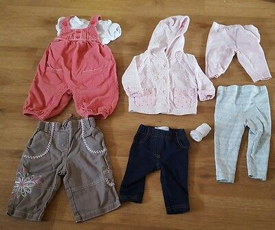 Small bundle baby girls 0-3 months clothes outfit jacket & trousers bargain