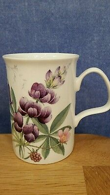 Fine Bone China Countryside (Floral)  Mug by Roy Kirkham.
