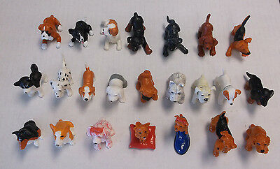 1995 Topps Series One Puppy In My Pocket Lot of 23 Different Dog Puppies RARE