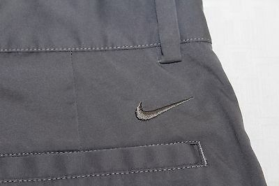 NIKE GOLF 28 Tour Performance DRI-FIT Gray Flat Front Polyester Shorts