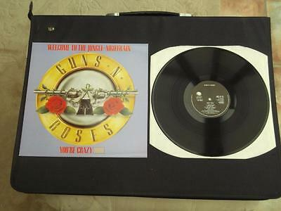 "Guns N Roses Welcome To The Jungle 1988 3 Track Uk Press 12"" Vinyl Record E.p."