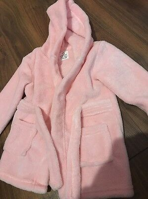 Baby Girl Pink Dressing Gown 6-12 Months