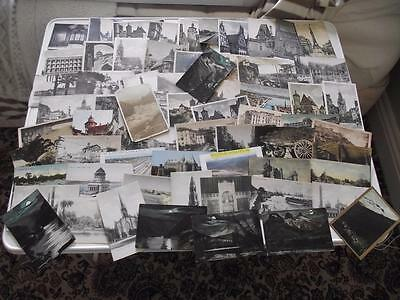 Europe & World Old Postcards X 62 Africa India France Germany North America