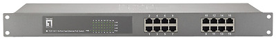 Level One FEP-1611 16 Port Fast Ethernet PeE Switch