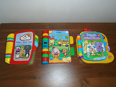 Bundle Activity Electronic Books Vtech Fisher Price Baby Toy Music