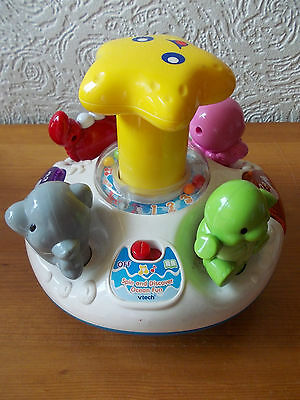 Vtech Spin And Discover Ocean Fun Toy With Music, Light And Animal Sounds.