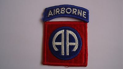 Superb US ARMY - 82nd AIRBORNE INFANTRY  INSIGNIA PATCH.