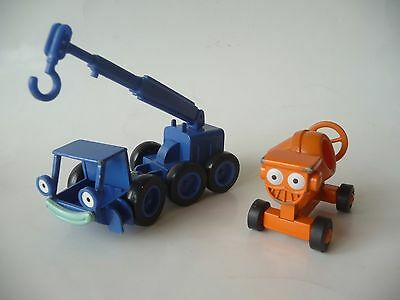 Racing Champions Bob The Builder Lofty And Dizzy played with condition