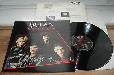 Queen Greatest Hits A1/B3 EX/EX SUPERB AUDIO! INNER ORIGINAL 1981 UK LP