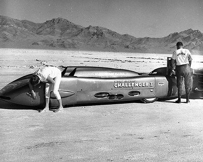 1961 Goodyear Mickey Thompson Challenger Bonneville LS Factory Photo ca7204