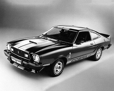 1977 Ford Mustang 302 Cobra II Factory Photo ca7239