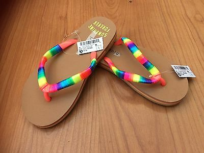 Next - Girls Flip Flops Size 13 - New With Tags