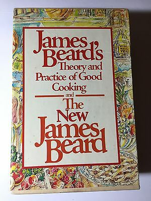 James Beard Theory and Practice of Good Cooking & The New James Beard BOX SET