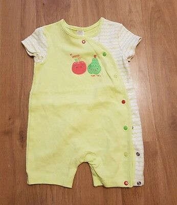 cute baby girls 3-6 months romper outfit summer holiday