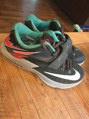 Nike KD-35 Black Boys Basketball Shoes Size 5 Youth 669942-005