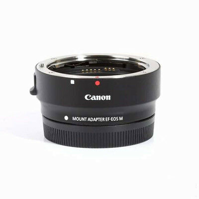 Canon EF-M Lens Adapter for Canon EF / EF-S Lenses (EF-EOS M) 6098B002