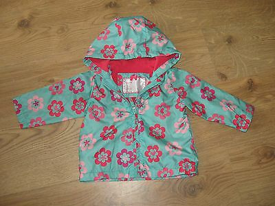 CUTE Girls Lined Raincoat/Mac/Jacket ~ MOTHERCARE ~ 6-9mths ~ Exc Cond