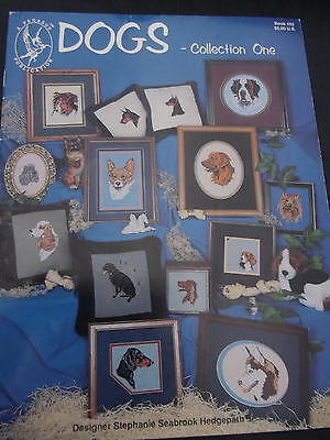 Dogs Collection Number 1  -  Dogs - 17  designs - Cross Stitch Chart