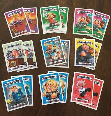 Garbage Pail Kids New Hampshire Primary Topps.com Online Set - Only 696 Made