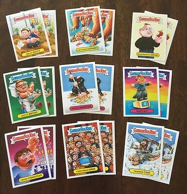 Garbage Pail Kids 2016 Not-Scars (Oscars) Topps.com Online Set - Only 252 Made