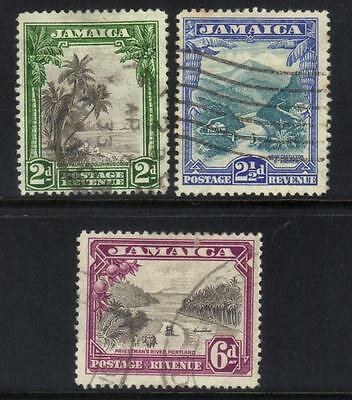 Jamaica 1932 Defins Used Set Of 3