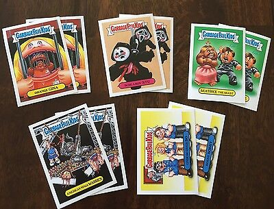 Garbage Pail Kids Trashy TV Summer Preview Topps.com Online Set - Only 182 Made