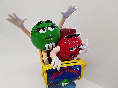 M & M's Roller Coaster Wild Thing Candy Dispenser
