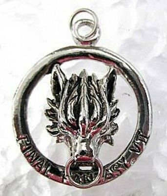 LOOK Sterling Silver Final Fantasy VII 7 Cloud Lion Charm
