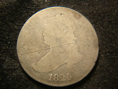 1825 Dated Capped Bust Quarter MAR