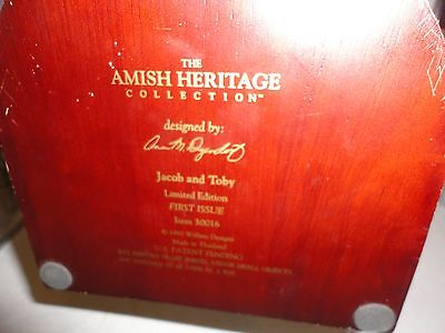 Amish Heritage Jacob and Toby  First Issue