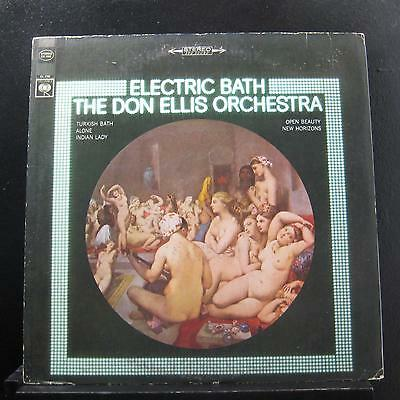 The Don Ellis Orchestra - Electric Bath LP VG+ CS 9585 Vinyl Record 1970's